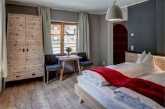 Schlafzimmer im Apartment Rothorn (Alpengasthof Zollwirt)