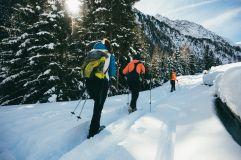 Schneeschuhwandern in die Ferienregion Eisacktal-Ratschings (Naturhotel Rainer)