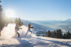 Schneeschuhwandern vor traumhafter Kulisse (c) Angélica Morales (TVB Silberregion Karwendel)