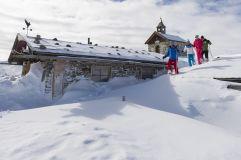 Schneeschuhwanderung im Nationalpark Hohe Tauern (Wildkogel Arena)