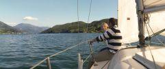 Segelturn über den See (KOLLERs Hotel)