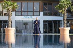 Shaolin-Großmeister Shi Yan Liang (Hotel Larimar)