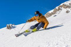 Ski fahren in der herrlichen Kulisse (c) Frank Drechsel (Genuss & Aktivhotel Sonnenburg - Kleinwalsertalhotels)