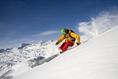 Skifahren bei herrlichem Wetter am Krippenstein (c) Leo Himsl (Ruperti Hotels)