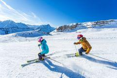 Skifahren bei Kaiserwetter (c) Frank Drechsel (Genuss & Aktivhotel Sonnenburg - Kleinwalsertalhotels)