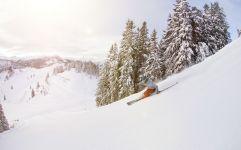 Skifahrer auf der Piste (c) MirjaGeh.com (St. Johann Alpendorf)