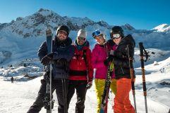 Skispaß am Arlberg (c) Dominik Zimmermann (Hotel Zürserhof)