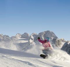 Skivergnügen in der Skiregion Dachstein West (Bergbahnen Dachstein West)