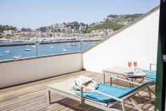 Sonnenbaden auf der Terrasse (c) Johanna Gunnberg (Hotel Espléndido)