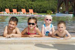 Spass am Pool des Hotel Európa