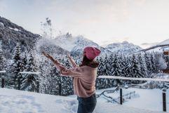 Spaß im Schnee (c) Aileen Melucci (Wellnesshotel Walserhof - Kleinwalsertal Hotels)