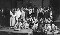 Spielgruppe von der Aufführung Jedermann 1953 (c) TVB Raurisertal