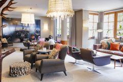 Stilvoll eingerichtete Lounge (c) Johanna Gunnberg (VALLUGA Hotel)