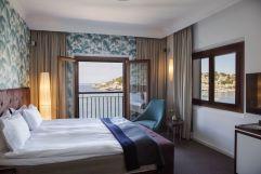 Stilvoll eingerichtetes Doppelbettzimmer mit Meerblick (c) Johanna Gunnberg (Hotel Espléndido)