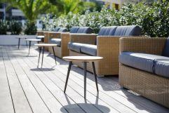Stilvoller Sitzbereich im Palma Sport + Tennis Club (c) Johanna Gunnberg (Hotel Espléndido)