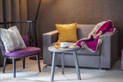 Süße Stärkung in gemütlicher Sitzecke (c) Johanna Gunnberg (VALLUGA Hotel)