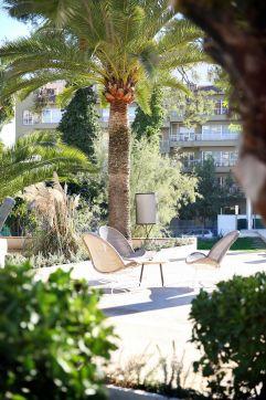 Summer-Feeling unter Palmen im Palma Sport + Tennis Club (c) Johanna Gunnberg (Hotel Espléndido)