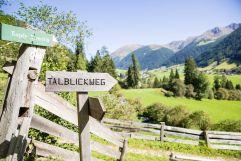 Talblickweg (c) TV Gsieser Tal - Kamilla Photography (Fontis eco farm & suites)