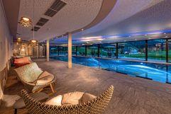 Tolles Indoorschwimmbad (Alpinhotel Berghaus)