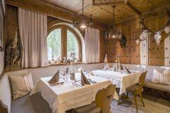 Traditionell eingerichtete Stube (Hotel Waldfriede)