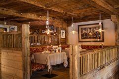 Traditionelles Restaurant auf der Seiser Alm (Tirler-Dolomites Living Hotel)