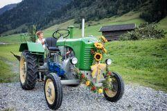 Traktor Oldtimer für das Bauernherbst Fest (c) Florian Bachmeier (TVB Raurisertal)