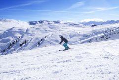 Traumhafte Bedingungen für SkifahrerInnen (Wildkogel Arena)