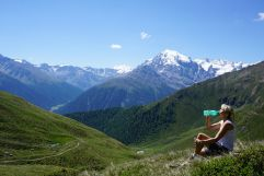 Traumhafte Natur beim Wandern erforschen (Wanderhotel Vinschgerhof)