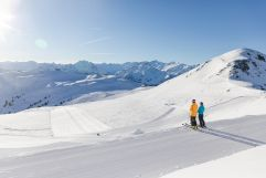 Traumhafte Pisten und herrliches Wetter für SkifahrerInnen (Wildkogel Arena)