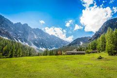 Traumhafter Ausblick auf die Stallenalm (c) Angélica Morales (Silberregion Karwendel)
