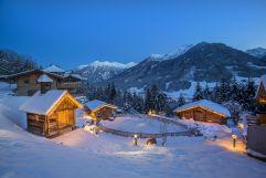 Traumhafter Blick auf die eingeschneiten Berge (c) Franz Reifmüller (Naturdorf Oberkühnreit)