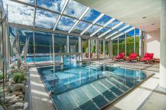 Traumhafter Pool und Thermenbereich (IMPULS HOTEL TIROL)