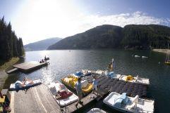 Tretbootfahrt auf dem Durlassboden Stausee (Tourismusverband Krimml)