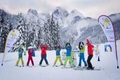 Übungen auf dem Ski im Zwisiland (c) schoepfmandi@aon.at (Dachstein West)