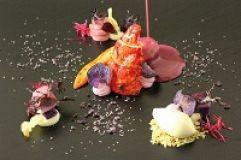 Violetter Hummer von Haubenkoch Martin Sieberer (Gourmet & Relax Resort Trofana Royal SUPERIOR)
