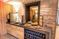 Vitaminbar im Hotel (Alpinhotel Berghaus)