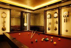 Voll ausgestattetes Billiardzimmer (Hotel Bergblick)