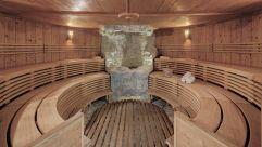 Vulcano Sauna im Hotel Almesberger