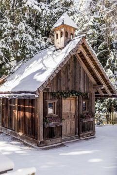 Waldkapelle im Winter (Hotel Tann)