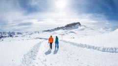 Wandern durch das Schneeparadies (c) Dominik Berchtold (Genuss & Aktivhotel Sonnenburg - Kleinwalsertalhotels)