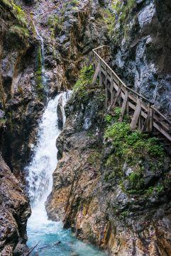Wanderung durch die Wolfsklamm Stans (c) ichmachefotos.com (Silberregion Karwendel)
