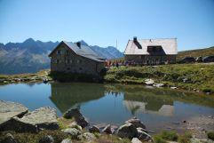 Wanderung zur Friedrichshafener Hütte (Trofana Royal)