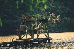 Wasserspaß am Lago di Levico (c) Storytravelers (TVB Valsugana Lagorai)