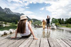 Wasserspaß mit der ganzen Familie (c) Peter Kuehnl (PURADIES Hotel & Chalets)