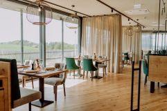 Weingartenrestaurant mit Blick auf die Weinberge (c) Karin Bergmann (Ratscher Landhaus)