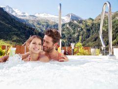 Whirlpool im Panoramaspa (Hotel Klausnerhof)