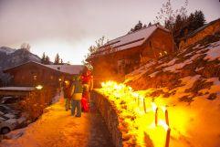 Winterliche Fackelwanderung (c)Wildkogel - Arena Neukirchen & Bramberg