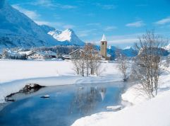 Winterpanorama Winter Sils (c) Engadin St. Moritz (Art Boutique Hotel Monopol)