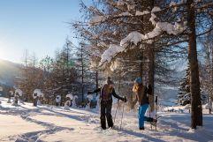 Winterspaß in Karwendel (c) Angélica Morales (TVB Silberregion Karwendel)