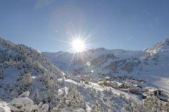 Winterstimmung in Malbun (Hotel Gorfion Familotel)